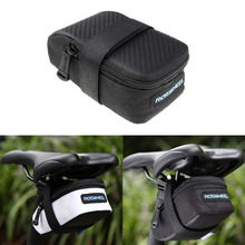 New Arrival Outdoor Cycling MTB Mountain Road Bike Bags Bicycle Saddle Bag Back Seat Tail Frame Tube Pouch Reflective Strip