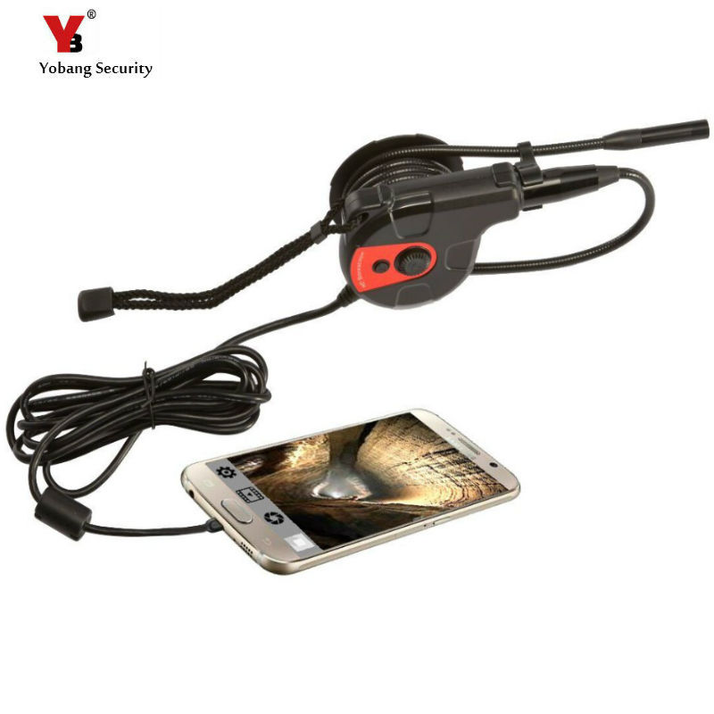 Yobang Security freeship 5.5mm 300,000 high-definition endoscope Android and Endoscope Camera Waterproof USB  Endoscope Camera <br>