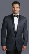 2016 Mens Suits Groomsmen Shawl Satin Black Lapel Groom Tuxedos One Button Wedding Best Man Suit  (Jacket+Pants+Tie+Girdle) B638