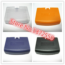 Hot Sale 5 pcs/Lot Multi-color Battery Cover for Gameboy Advance GBA Console Battery Cover Replacment Parts Girl / Boy Gift