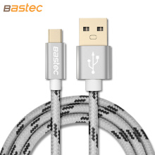 USB Type C Cable , Bastec USB Type-C 3.1 Gold-plated Connector Braided Wire USB C Cable for MacBook / Xiaomi 4C / Letv / Oneplus