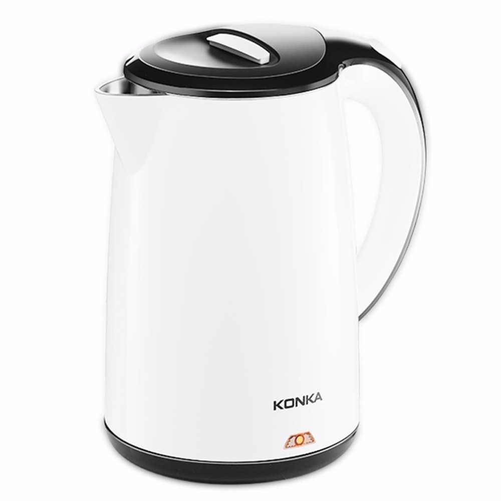KONKA 1.8L Electric Water Kettle 304 Stainless Steel  Electric Kettle With Safety Auto-off Function Quick Electric Boiling Pot <br>
