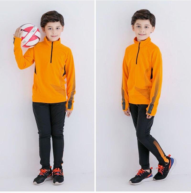kids clothes training suit boys survetement football 2017 children clothing soccer tracksuit outfits maillots de football sets<br>