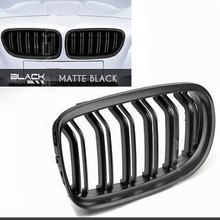 For BMW 3 Series E90 09-12 4 Door 4D Modification Gloss Black Front Bumper Kidney Grill Grille