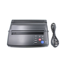 Tattoo Transfer Copier Printer Machine Thermal Stencil + Bonus Papers Black