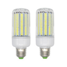 220V  170leds Smart IC SMD5736 led lamp chandelier led bt Dissipation High Bright Lampada LED Lamps  Corn Bulb Global light