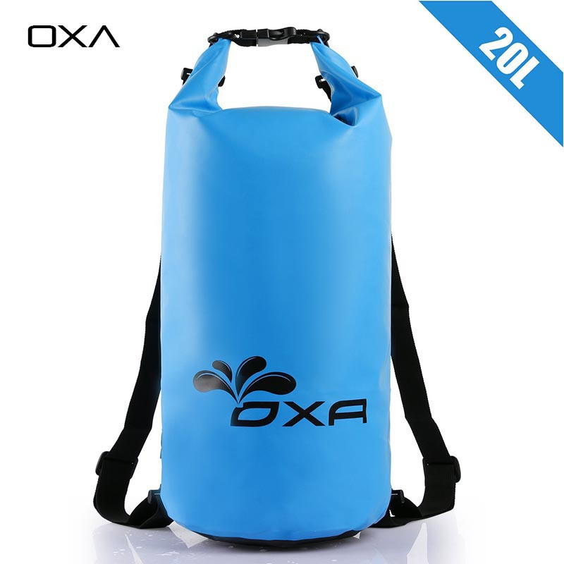 OXA 20L Outdoor PVC IPX6 Waterproof Dry Bag Durable Lightweight Diving floating Camping Hiking Backpack Swimming Bags(China (Mainland))