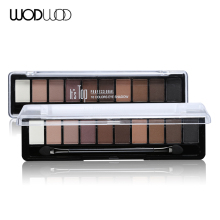 Wodwod Makeup Brand Earth Color Eyeshadow Palette Glitter Eye Palette Maquiagem Matte Pigment Eye Shadow