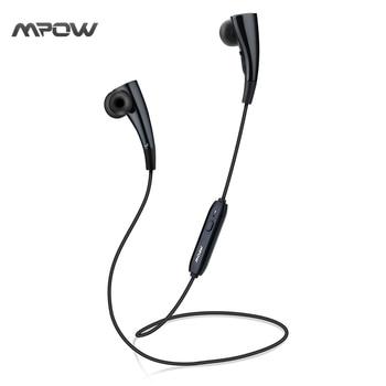 MBH31 Mpow Corrida Collier Écouteurs Portable Magnétique Mains Libres Sans Fil Bluetooth Casque pour iPhone Android Xiaomi etc