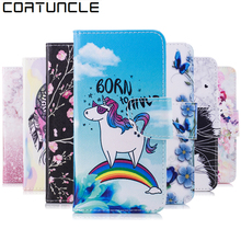 Buy COATUNCLE Flip Leather Case sFor Funda Sony Xperia E5 case Coque Sony E5 F3311 F3313 Wallet Cover Stand Phone Case Cat horse for $3.28 in AliExpress store