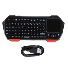 IS11-BT05 Mini Wireless Bluetooth V3.0 Keyboard Built-in Fly Air Mouse Touchpad For ipad Tablet PC Windows Android ios Smart TV(China)