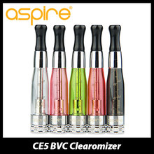 Buy 5pcs/lot Aspire CE5 BVC Clearomizer 1.8ml E-liquid Capacity E cigarette Tank 1.8ohm Bottom Vertical Atomzier Vape ego thread for $14.55 in AliExpress store