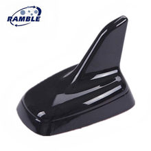 Ramble Brand Shark Fin Antenna Car Roof Aerial Decorative Accessories Antena Tiburon For Audi Q7 S3 S5 S6 S7 S8 RS5 RS 6 RS7