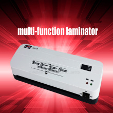 1PC Office Hot and Cold Laminator Machine for A4 Document Photo Blister Packaging Plastic Film Roll Laminator(China)