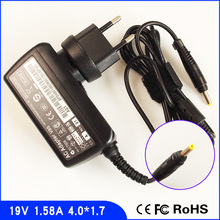 19V 1.58A Wall Netbook Ac Power Adapter Charger for HP/Compaq Mini 534554-002 535630-001 PPP018H PPP018L EPC NA374AA
