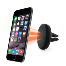 Universal magnetic car holder 360 degrees air vent mount magnet holder stands for iphone 6s 5s samsung mobile phone accessories(China)
