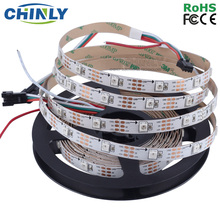 DC5V 1m 4m 5m WS2812B RGB individually addressable Smart led pixel strip,Black/White PCB,30 60 144 leds/m WS2812 IC,Waterproof