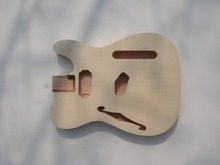 DIY Guitar parts ----- top grade unfinished electric guitar body , flamed maple covered guitar body