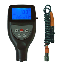 CM8856 Split Coating Thickness Gauge LCD display film thickness gauge Aluminum and iron-based F  / NF coating thickness gauge