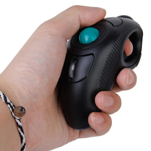 New Wireless 2.4G Air Mouse Handheld Trackball Mouse Thumb-Controlled Handheld Trackball Mice Mouse