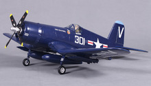 FMS 800MM / Mini Warbird F4U Corsair V2 Blue PNP Duralble EPO Scale Radio Control RC MODEL PLANE