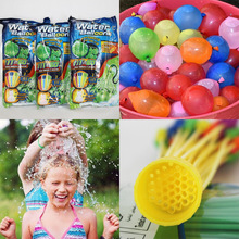Mixed Color 111 Magic Water Balloons Self Tying Bunch O Balloon Bombs Party Toys