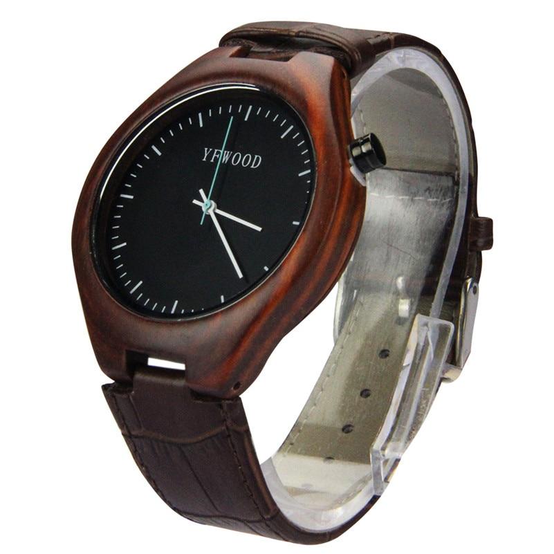 2017 Hot Sell Women Men Watches Top Brand Luxury Wooden Quartz-Watch Fashion Business Leather Wristwatch relogio feminino<br><br>Aliexpress