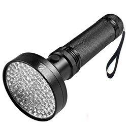 УФ-фонарик 100 светодиодов 395 нм УФ-детектор света для собак кошек мочи, домашних пятен, клопов кровати, скорпионов, машинного контроля утечки