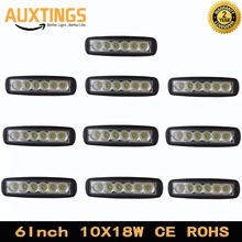 "2PCS 10PCS 6""Inch led working light 18W SPOT FLOOD Beam Off Road Light Lamp Fog Driving Light Bar For 4X4 Car Truck ATV"