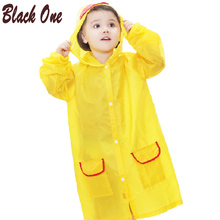 Raincoat Kids for Children Capa De Chuva Impermeable Rainwear Japan Waterproof Transparent Rain coat Poncho Cover Hooded Jacket(China)