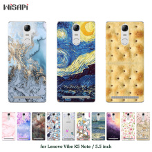 Buy Soft Silicone Case Lenovo Vibe K5 Note A7020 Cover Fashion Printed Lenovo A7020 K52t38 A7020a40 A7020a48 K52E78 Bag for $1.48 in AliExpress store