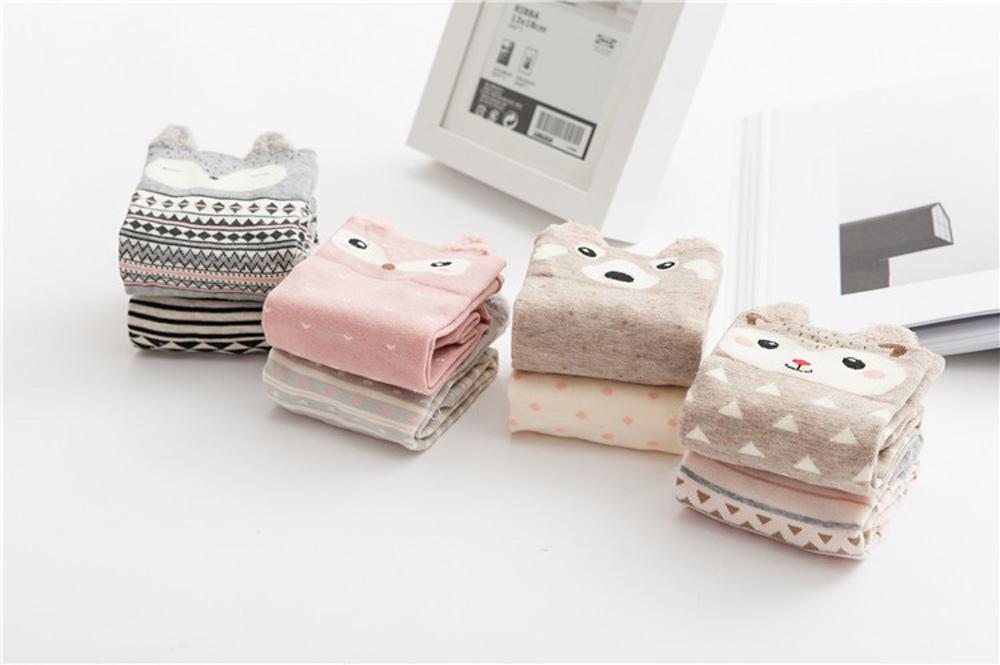 17 New Lovely Cartoon Women Socks High Quality Cotton Sox Japanese Fashion Style Socks Autumn Winter Warm Socks For lady Girls 4