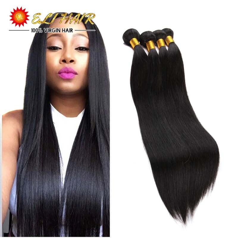 Peruvian Virgin Hair With Closure 8A Peruvian Straight Virgin Hair With Closure And Bang 4 Bundles Human Hair With Closure<br><br>Aliexpress