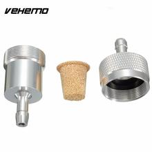 "Buy Vehemo Universal Motorcycle Moto Scooter Inline Fuel Oil Filter 1/4"" 6mm CNC Aluminium Alloy for $2.97 in AliExpress store"