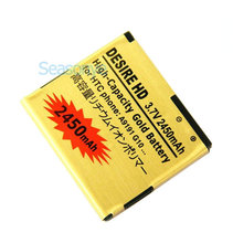 Seasonye 5pcs/lot 2450mAh BD26100 Gold Replacement Battery For HTC G10 Desire HD Surround T9188 T9199 A9191 Inspire 4G A9192 ect(China)