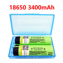 2 pcs 2016 liitokala lii-34B New Original NCR18650 3400 34B Rechargeable Li-ion battery for panasonic 18650 3400mah