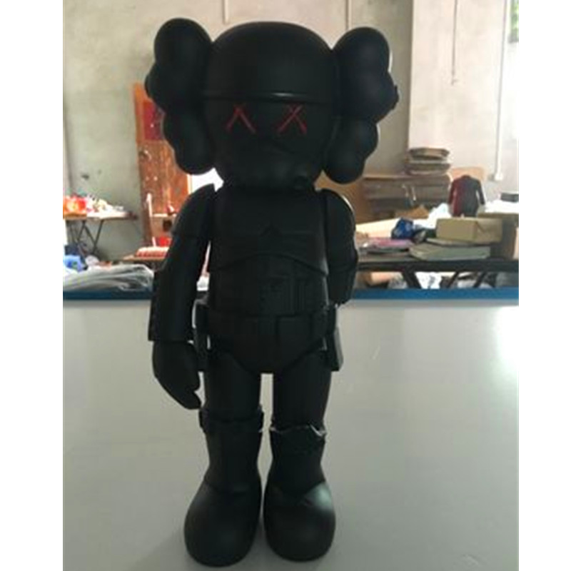10Inches KAWS Trend Star Wars White Soldiers Originalfake BFF Street Art PVC Action Figure Collectible Model Toy RETAIL BOX S160<br>
