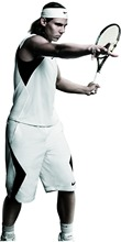 "Rafael Nadal Tennis star Silk Cloth Poster 47""x24"" 26""x13"" --001(China)"