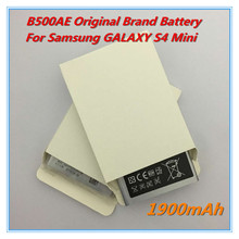 New high quality Replacement Battery B500AE 1900mAh For Samsung GALAXY S4 Mini B500AE I9190 I9192 I9195 I9198 S4 Mini Battery
