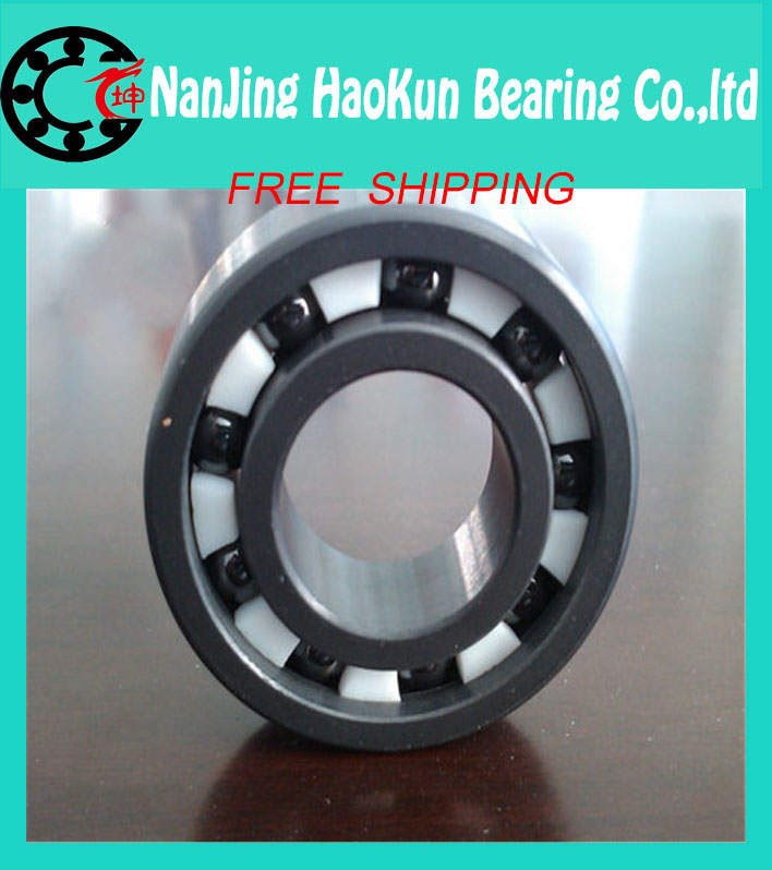 Free shipping 6202-2RS full SI3N4 ceramic deep groove ball bearing 15x35x11mm 6202 2RS<br><br>Aliexpress
