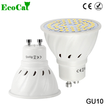 ECO CAT Lampada LED Lamp GU10  220V 3W 5W 7W 9W 5050 2835 SMD Ampoule LED Spotlight Bombillas LED Bulb Spot light Candle Luz