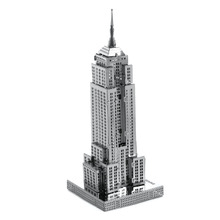 Jigsaw Puzzles For Children DIY Empire State Building Kids Toys International Architecture Building Puzzle For Adult