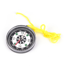NEW Outdoor Lightweight Hiking camping plastic survival Handheld mini Compass With Line(China)