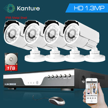 AHD 1.3Mp 960P HD Outdoor Home Security Camera CCTV System 4CH HDMI 1080p DVR NVR recorder Video Surveillance Kit USB 3G WIFI(China)