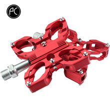 Buy PCycling Bicycle Pedal Bike Bearing Butterfly Pedal MTB Road Bike Pedal Aluminum Alloy Ultra-light Foot Pedal Cycling Parts for $19.21 in AliExpress store