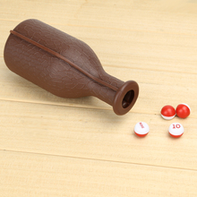 1Pc Billiard Kelly Pool Table Shaker Bottle with 16 Numbered Tally Balls Peas Entertainment Board Game Tool