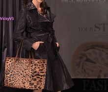 Women Leather handbags Shoulder Tote Patent leather Stereotypes handbags Women Messenger Bag Leopard Print bags 18