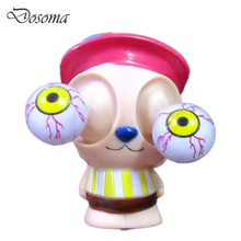Anti Stress Pop Out Eyes Chopper Doll Venting Decompression Squeeze Toys One Piece Chopper AntiStress Extruding Burst Eyes T