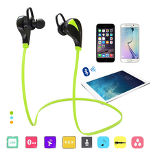 Wireless Bluetooth earphone Sport Handsfree Stereo Voice Contro G6 Headset Fit iPhone Xiaomi Smartphone Global free shipping