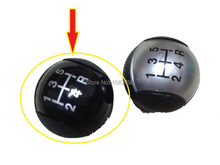 1 Piece Black colour Gear Knob for Ford Focus 2 II 2005-2008 1.8L